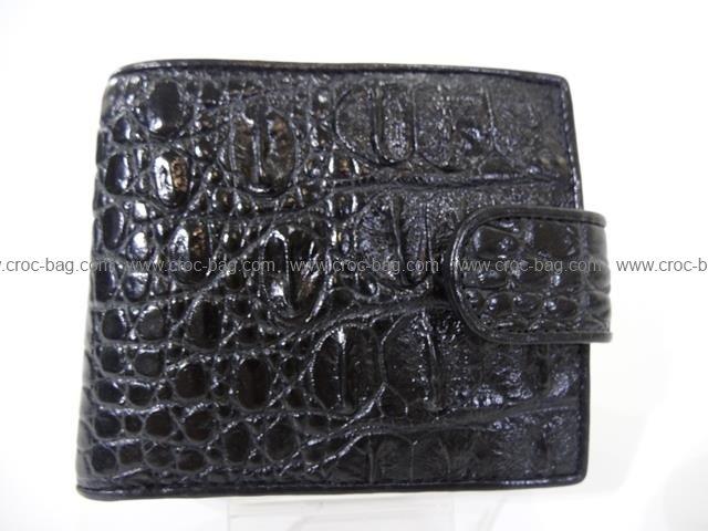 กระเป๋าสตางค์หนังจระเข้สำหรับผู้ชาย 1497