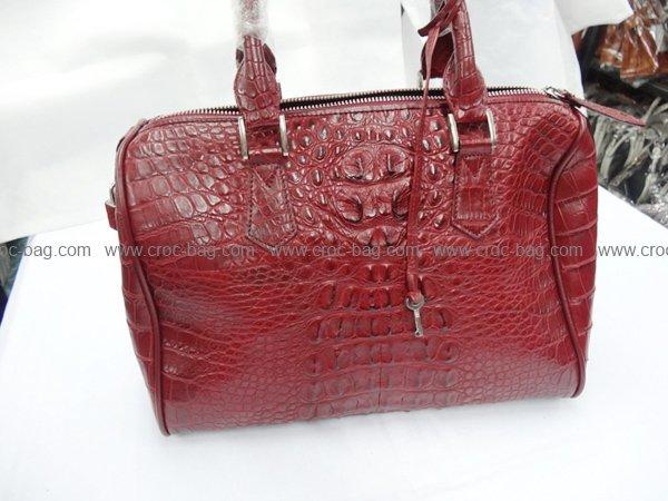 กระเป๋าถือหนังจระเข้สำหรับคุณผู้หญิง 459b