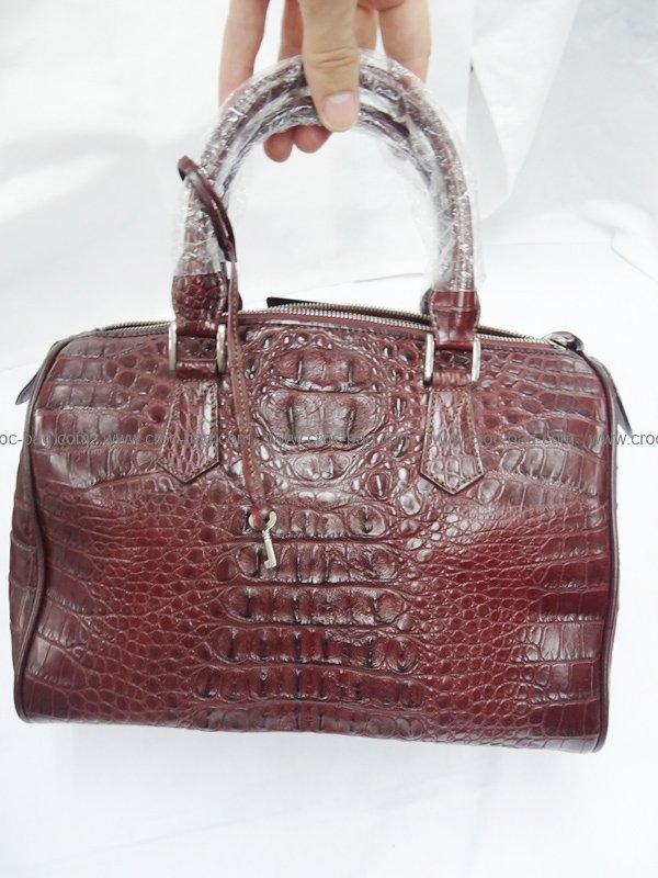 กระเป๋าถือหนังจระเข้สำหรับคุณผู้หญิง 460b