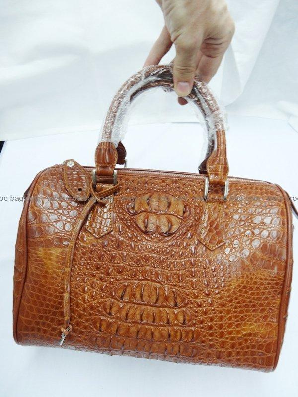 กระเป๋าถือหนังจระเข้สำหรับคุณผู้หญิง 461b