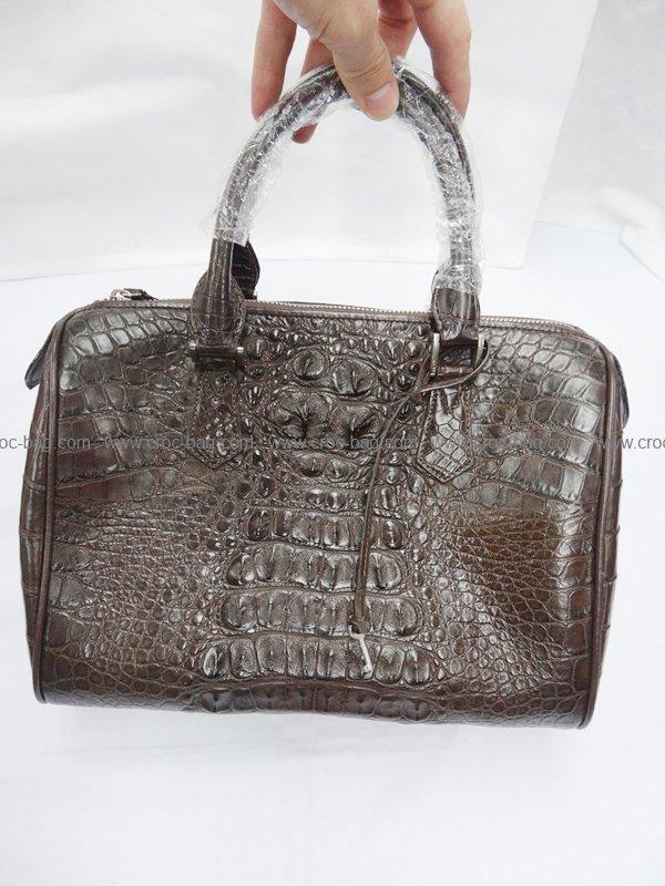 กระเป๋าถือหนังจระเข้สำหรับคุณผู้หญิง  464b