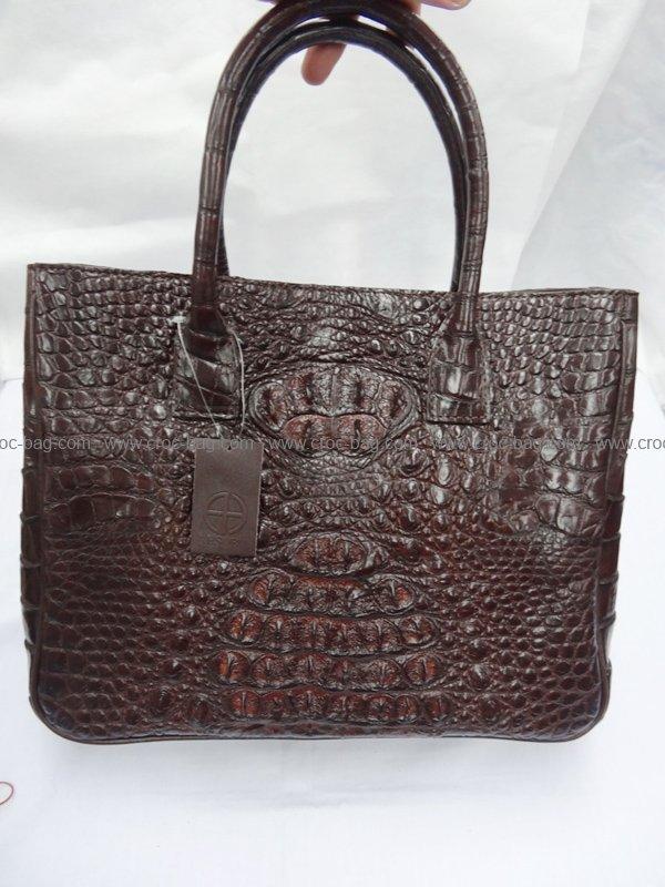 กระเป๋าถือหนังจระเข้สำหรับคุณผู้หญิง  476b