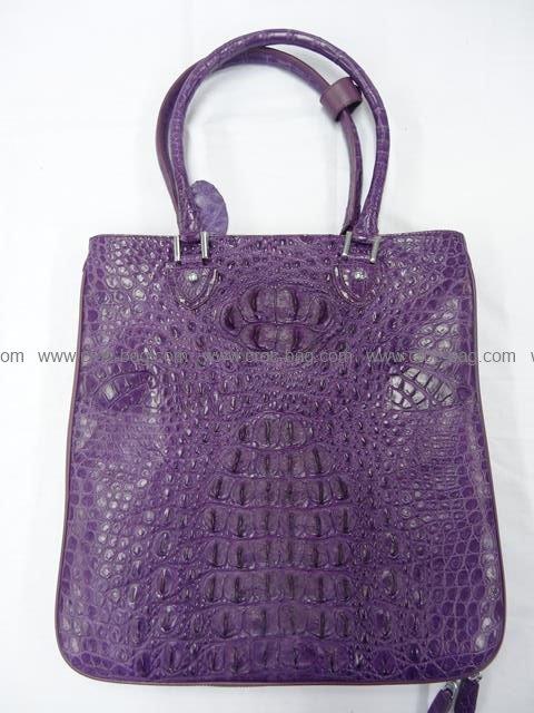 กระเป๋าถือหนังจระเข้สำหรับคุณผู้หญิง 510b