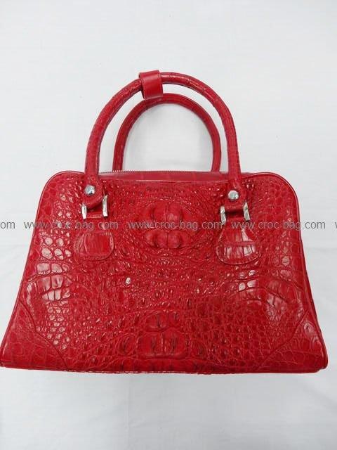 กระเป๋าถือหนังจระเข้สำหรับคุณผู้หญิง 522b