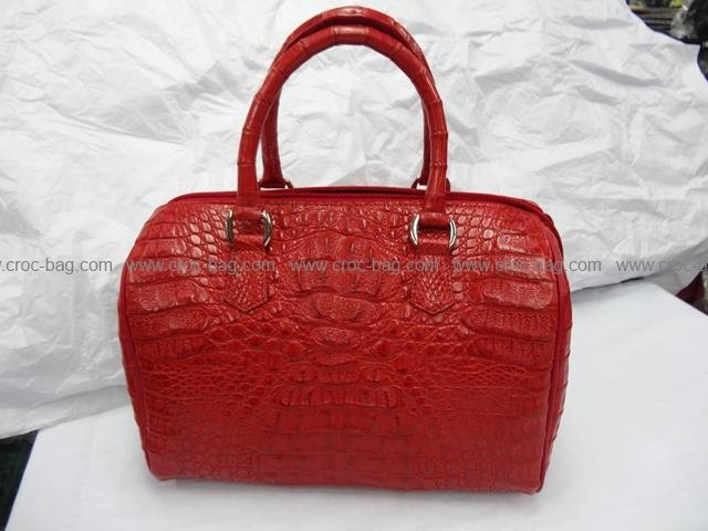 กระเป๋าถือหนังจระเข้สำหรับคุณผู้หญิง 539b
