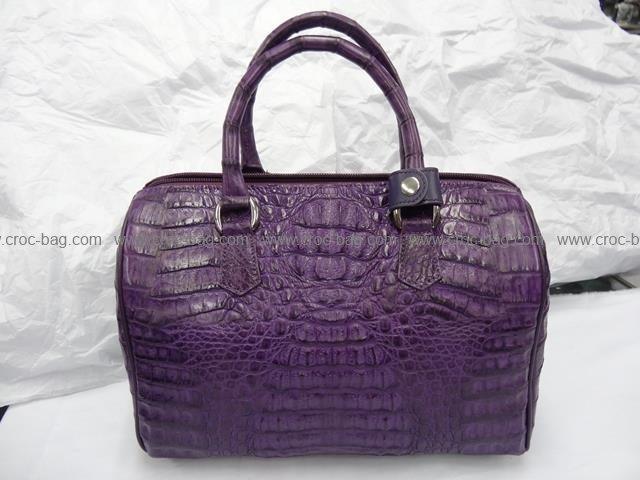 กระเป๋าถือหนังจระเข้สำหรับคุณผู้หญิง 541b