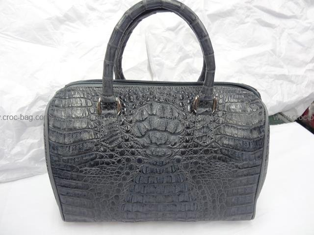 กระเป๋าถือหนังจระเข้สำหรับคุณผู้หญิง 542b
