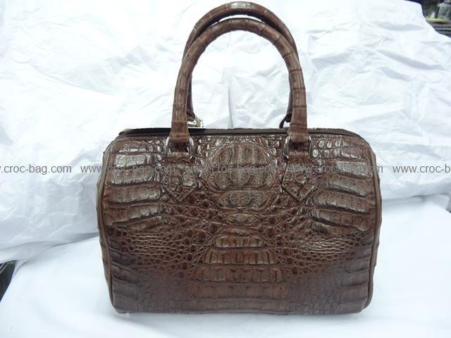 กระเป๋าถือหนังจระเข้สำหรับคุณผู้หญิง 543b
