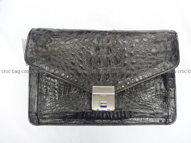 กระเป๋าถือหนังจระเข้สำหรับคุณผู้ชาย 553b