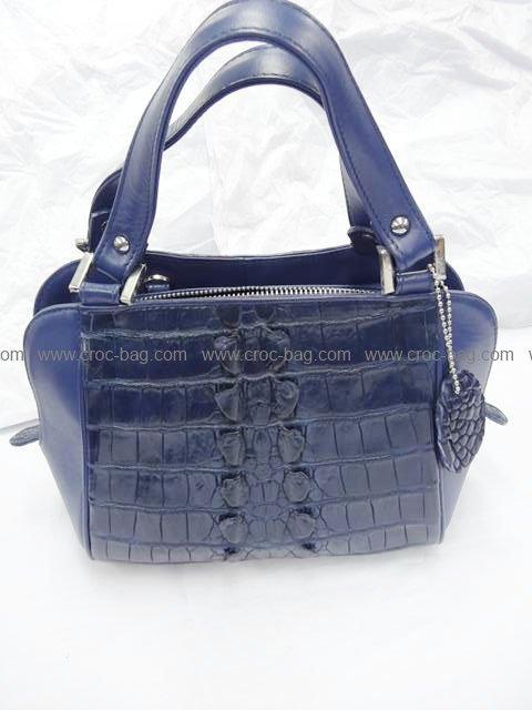 กระเป๋าถือหนังจระเข้สำหรับคุณผู้หญิง 558b