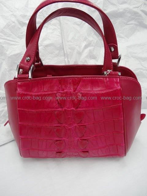 กระเป๋าถือหนังจระเข้สำหรับคุณผู้หญิง 560b
