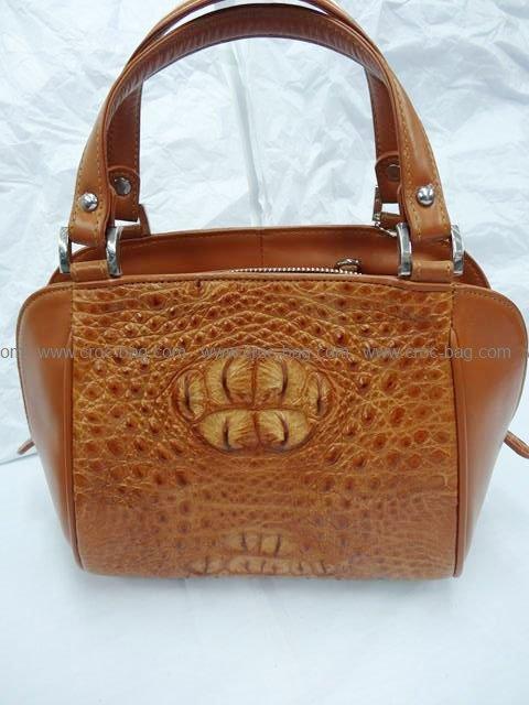 กระเป๋าถือหนังจระเข้สำหรับคุณผู้หญิง 561b