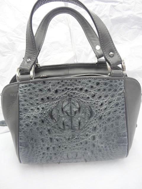 กระเป๋าถือหนังจระเข้สำหรับคุณผู้หญิง 562b