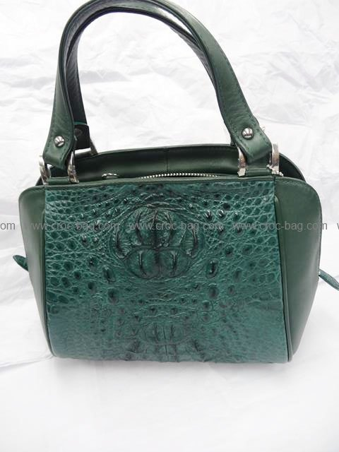 กระเป๋าถือหนังจระเข้สำหรับคุณผู้หญิง 563b