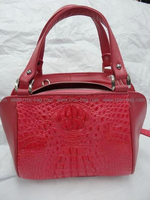 กระเป๋าถือหนังจระเข้สำหรับคุณผู้หญิง 564b