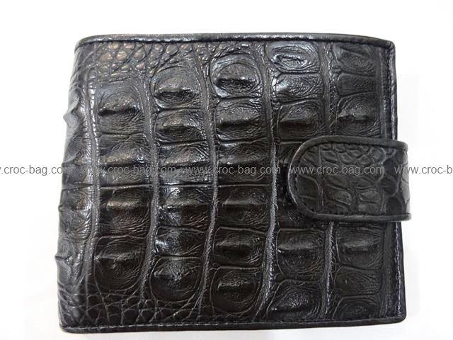 กระเป๋าสตางค์หนังจระเข้สำหรับผู้ชาย 331b
