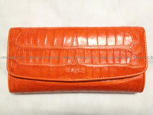 กระเป๋าสตางค์หนังจระเข้สำหรับคุณผู้หญิง 1357
