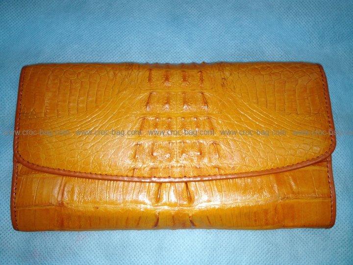 กระเป๋าสตางค์หนังจระเข้สำหรับคุณผู้หญิง 389b