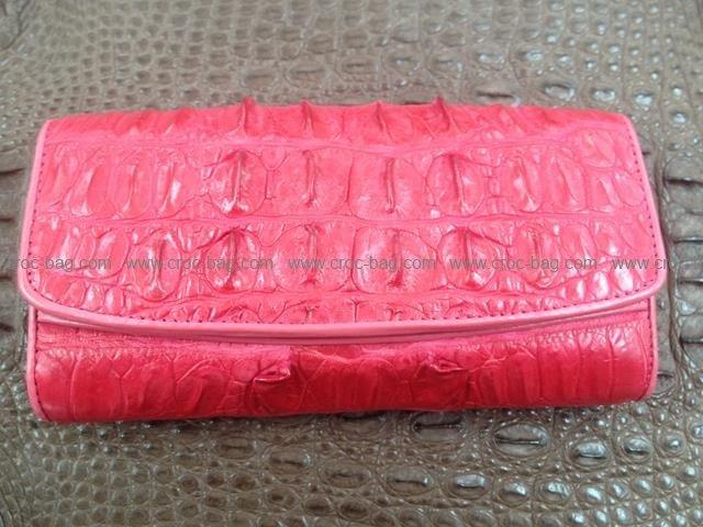 กระเป๋าสตางค์หนังจระเข้สำหรับคุณผู้หญิง 1360