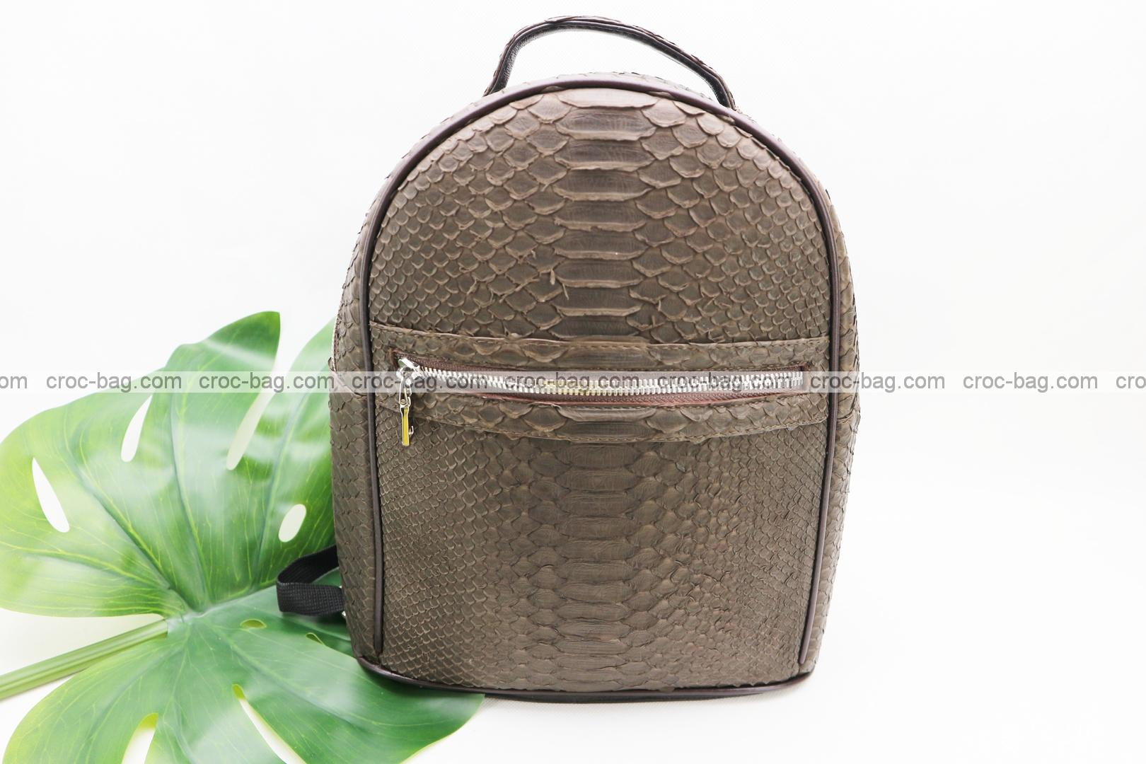 กระเป๋าเป้หนังงู 5218
