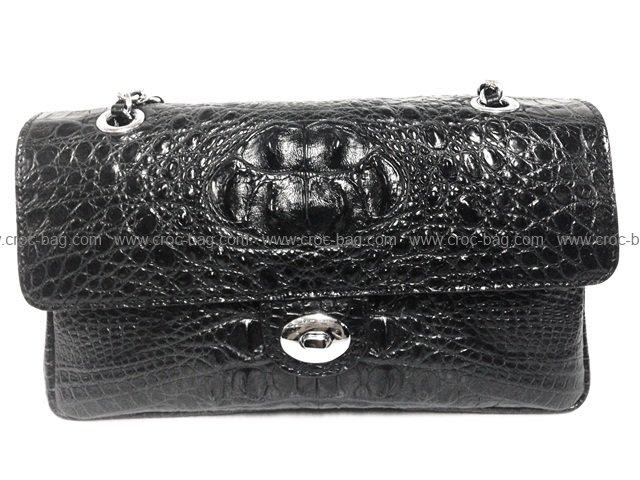 กระเป๋าสะพายหนังจระเข้สำหรับคุณผู้หญิง 530b